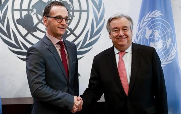 Глава МЗС Німеччини закликав до посилення ООН