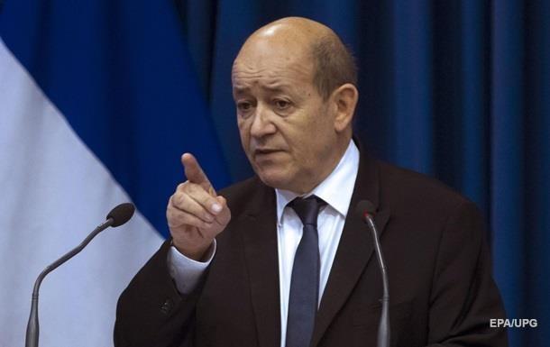 Франция требует от РФ выполнять международное право