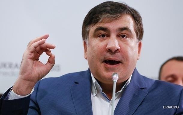 Саакашвили заявил, что силовики во время обысков его ограбили