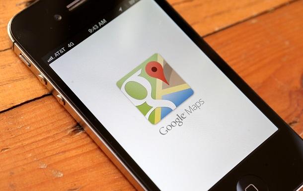 Google Maps «выучили» украинский