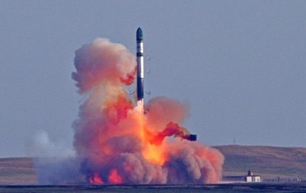 РФ провела тестирования баллистической ракеты «Сармат»