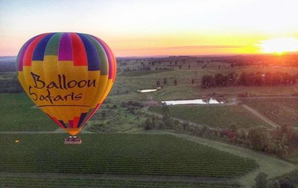 В Австралии упал воздушный шар: пострадали девять человек