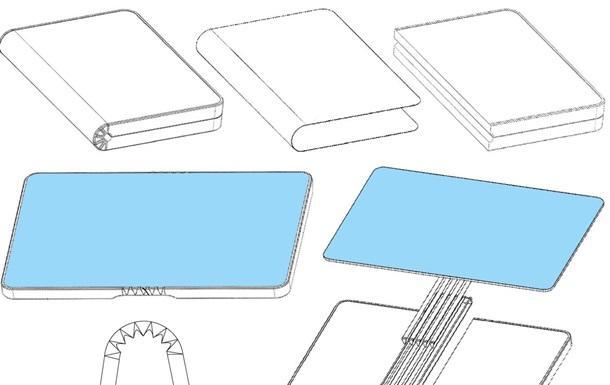 Huawei запатентувала смартфон, що складається