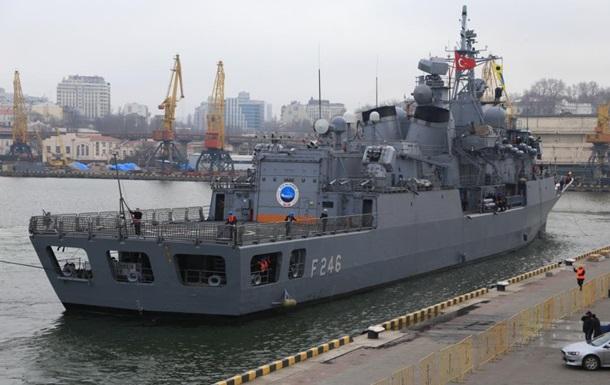 Корабли турецких ВМС зашли в Одессу