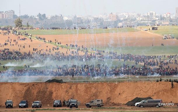 Внаслідок сутичок накордоні з Ізраїлем загинуло 16 палестинців, сотні поранено