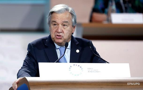 Генсек ООН призвал расследовать ситуацию в Газе