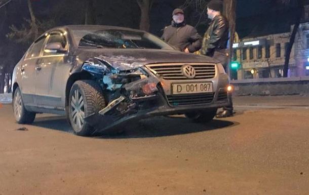 В Киеве дипломатическое авто России попало в ДТП