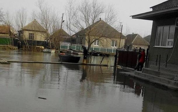 В Одеській області затопило третину Вилкового