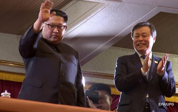 Кім Чен Ин відвідав концерт артистів з Південної Кореї
