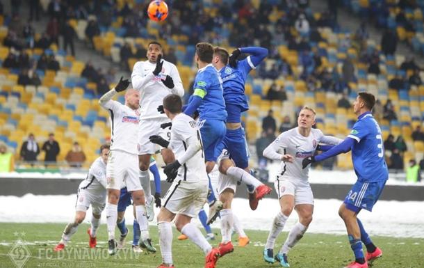 Матч Динамо - Заря: 4-0. Онлайн-трансляция