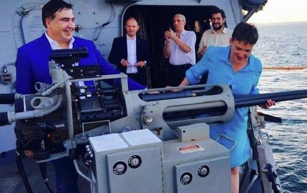 Саакашвили пропал. Очередь за Савченко