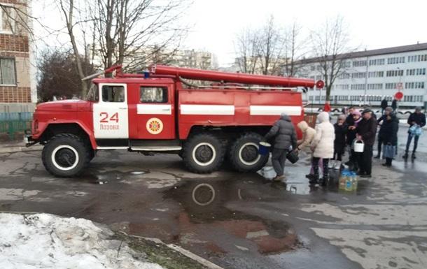 В Харьковской области без воды остались 190 домов
