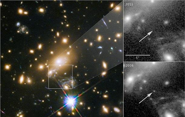 Телескоп Hubble сделал фото самой далекой звезды Вселенной