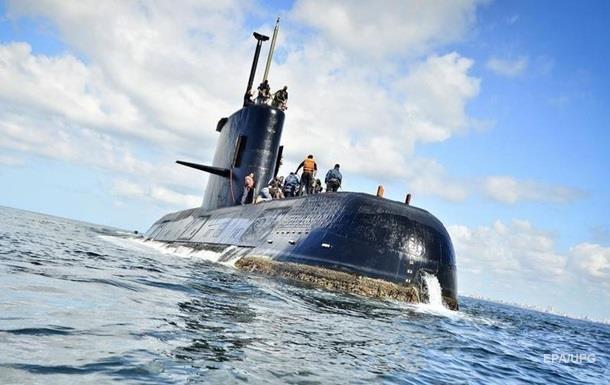 Російське судно припинило пошуки аргентинського підводного човна
