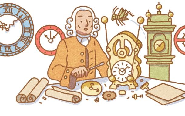 Винахідник-самоучка: Google присвятив doodle Джону Гаррісону