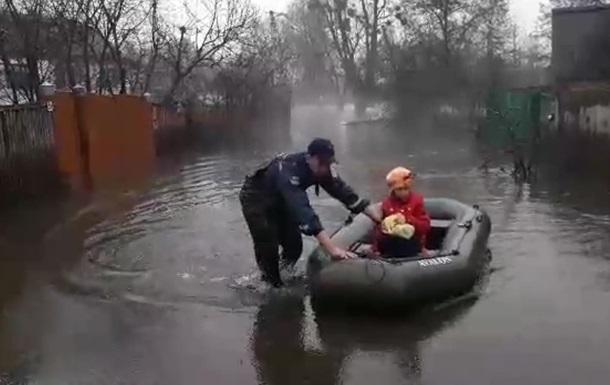 В двух областях подтоплены более 400 домов