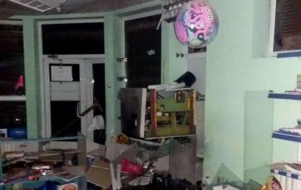 В Харькове взорвали и ограбили банкомат