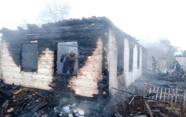 В пожаре под Житомиром погибло двое детей