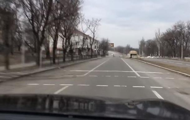 В ДНР показали систему обороны Донецка