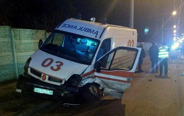 В Харькове произошло ДТП с участием  скорой