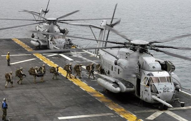 В США разбился крупнейший военный вертолет: четверо погибших