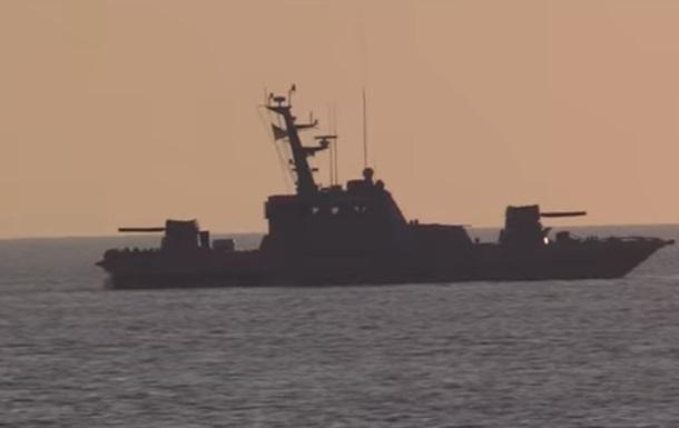 В Черном море испытали артиллерийские катера