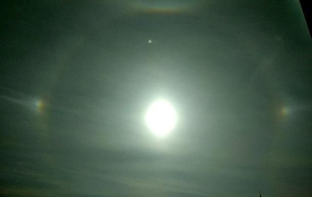 В небе над Харьковом заметили гало