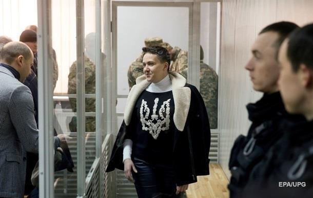 У Савченко в СІЗО взяли аналізи