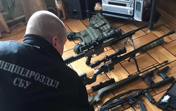 В Одессе изъяли крупный арсенал оружия