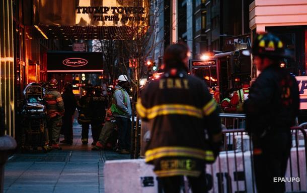 СМИ: В результате пожара в башне Трампа умер мужчина