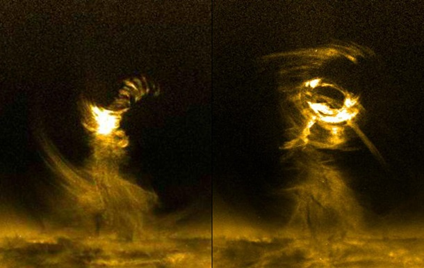 Ученые поняли природу торнадо на Солнце