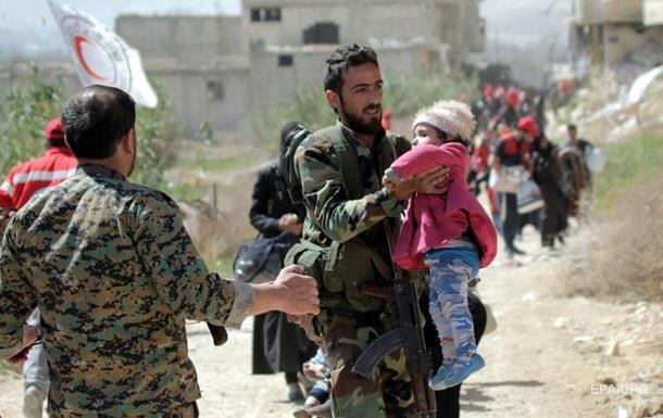 США обвинили Россию в химатаке в Сирии
