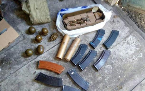 Под Донецком полиция изъяла схрон боеприпасов