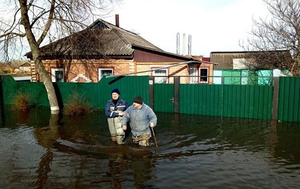 В реках Украины повышается уровень воды