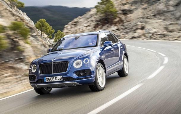 Українці в першому кварталі купили десять Maserati і 11 Bentley