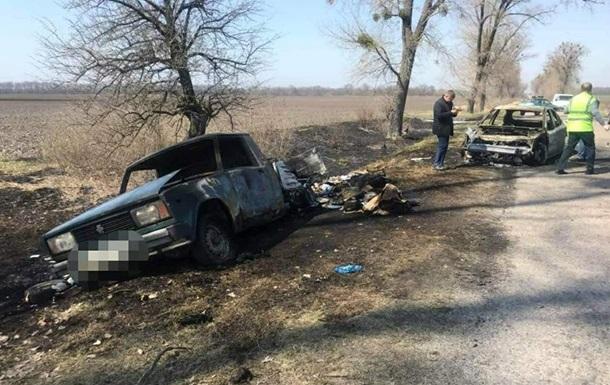 В Киевской области ограбили авто инкассаторов