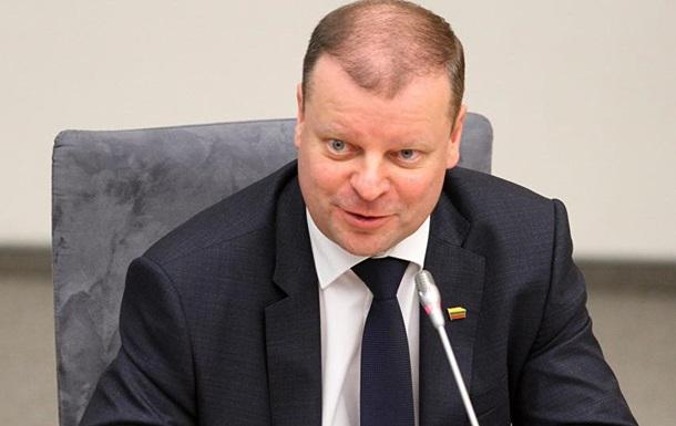 Литовский премьер едет на Донбасс