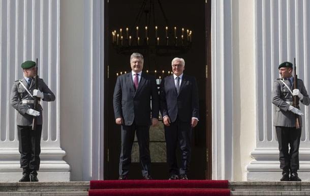 Порошенко обговорив зі Штайнмаєром санкції проти Рос