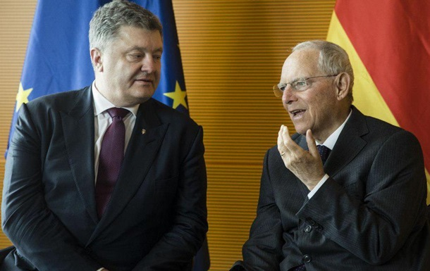 Порошенко встретился со спикером Бундестага