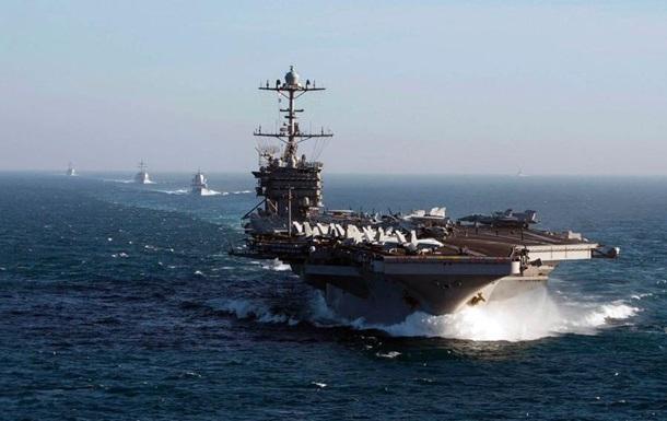 США отправляют ударную группу кораблей в Средиземное море