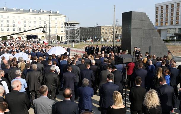 У Варшаві відкрили пам ятник жертвам Смоленської катастрофи