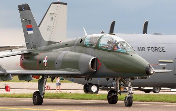 У Сербії розбився військовий літак: є жертви