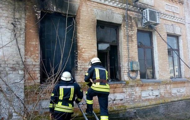 В Киевской области горел сельсовет