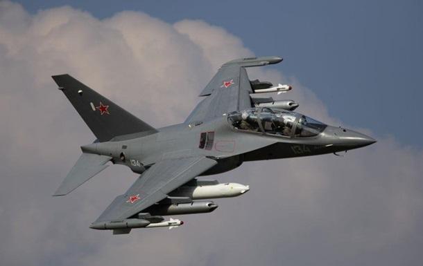 У Роcсии літак Як-130 розбився під час тренувального польоту