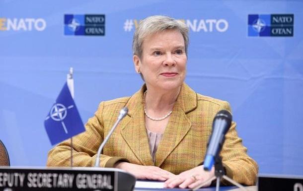 В Україну прибула заступник генсека НАТО
