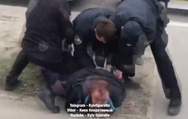 В Киеве задержали пьяного водителя автобуса