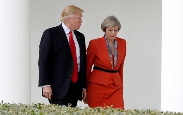 Мей і Трамп дійшли згоди щодо Сирії