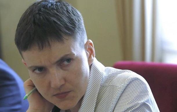 В СБУ почалася перевірка Савченко на поліграфі