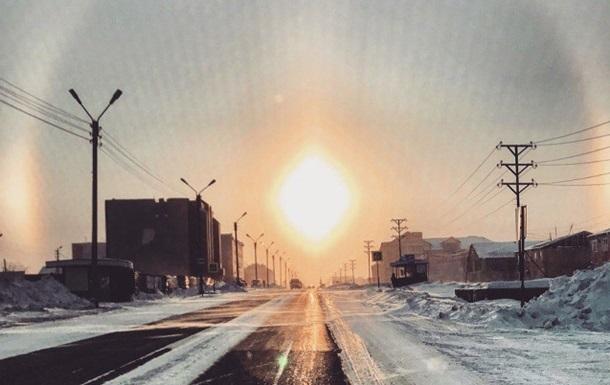 В России взошло ромбовидное солнце