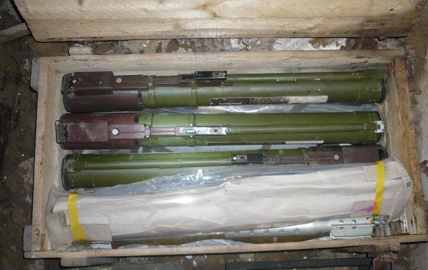 У Луганській області силовики виявили арсенал боєприпасів